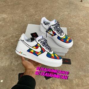 Nike Shoes Custom Air Force One Low Poshmark